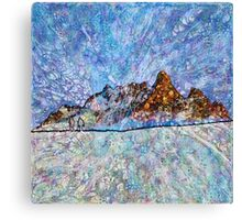 Hyperborean Landscape 10 Canvas Print