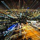 Melbourne City Burst by PerkyBeans