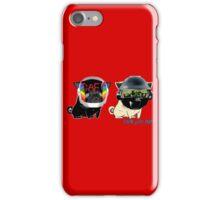 daft pugs iPhone Case/Skin