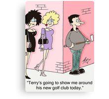 golf club Canvas Print