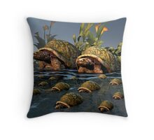 Moving To Deepier Waters Throw Pillow