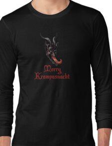 Merry Krampusnacht Long Sleeve T-Shirt