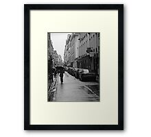 Woman in the Rain, Rue Jacob Framed Print