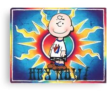 Hey Now!!! Charlie Brown Canvas Print