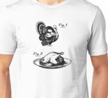 Thanksgiving Turkey Before and After Unisex T-Shirt
