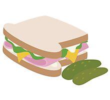 Ham Sandwich Photographic Print
