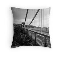 Clifton Suspension Bridge Throw Pillow