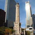 Chicago Water Tower by Pat Herlihy