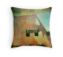 stock home Throw Pillow