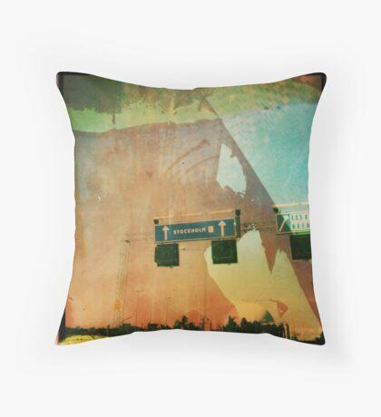 stock home Throw Pillow