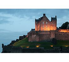 Castle at Dusk Photographic Print