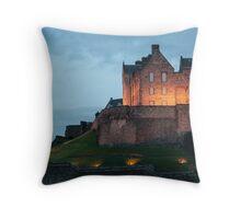 Castle at Dusk Throw Pillow