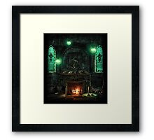 Slytherin Common Room Framed Print