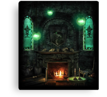 Slytherin Common Room Canvas Print