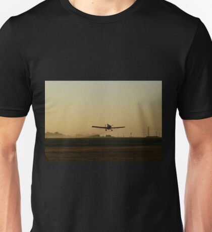 Crop Duster Spraying Poison Next To My Front Yard Unisex T-Shirt