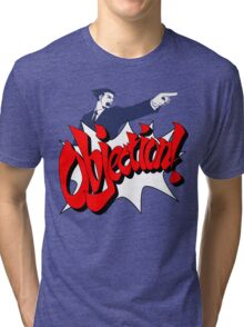 Objection Tri-blend T-Shirt