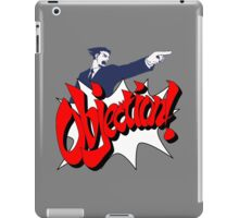 Objection iPad Case/Skin