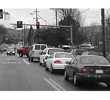 A Moment in Traffic Photographic Print