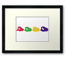 The Brothers' Hats Framed Print
