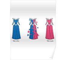 Aurora Dress Poster