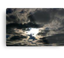 Silver Skies Metal Print