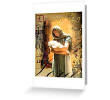 The Birth of Salvation Greeting Card