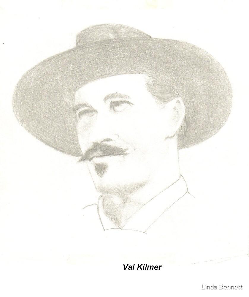 Val Kilmer by Linda Bennett
