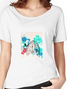 Ribs Women's Relaxed Fit T-Shirt