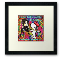 when I paint my masterpiece!!! Framed Print