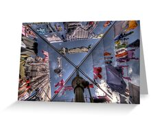 Hang me out to Dry (Hills Hoist 2) Greeting Card