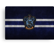 Ravenclaw Knitted Canvas Print