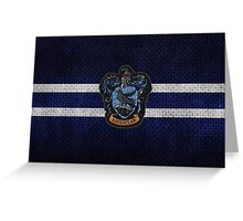 Ravenclaw Knitted Greeting Card