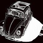 VW shadow in white by bulldawgdude