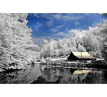 Infrared Mill Photographic Print