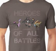 SC2-Heroes Of All Battles Unisex T-Shirt