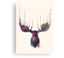 Moose Canvas Print