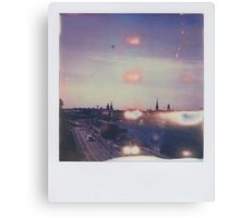 the light of stockholm Canvas Print