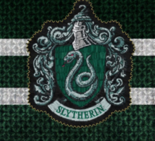 Slytherin Knitted Sticker