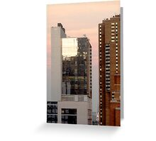 On a Clear Day - New York, NY Greeting Card