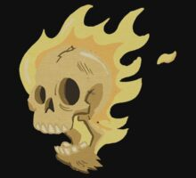 Flaming Head... T-Shirt