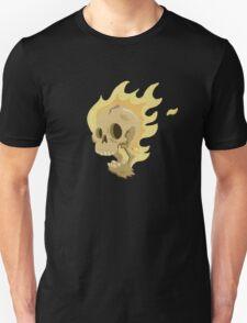 Flaming Head... T-Shirt