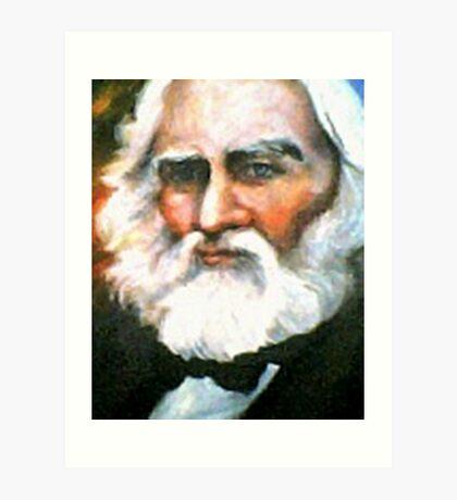 Henry Wadsworth Longfellow Art Print