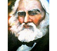 Henry Wadsworth Longfellow Photographic Print