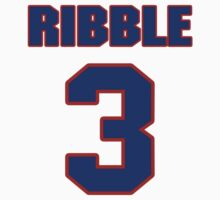 National Hockey player Pat Ribble jersey 3 by imsport