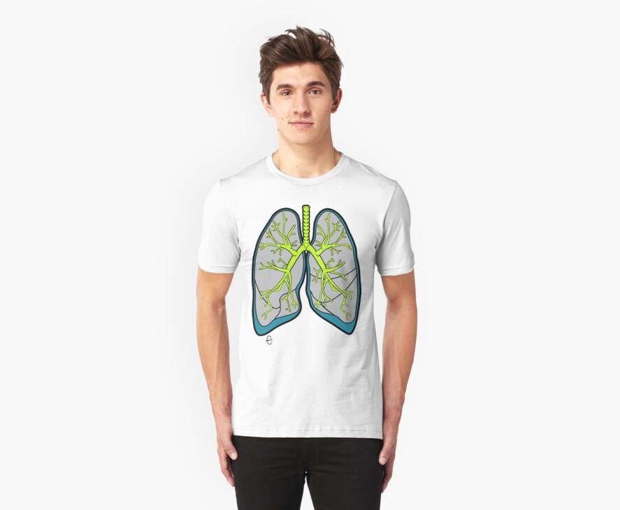 Big Lungs 2 by Bizarro Art
