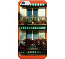 Pretty Swiss Window Box iPhone Case/Skin
