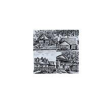 little houses by Heather Matthews