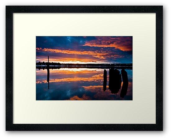 Mill Park Sunset by William Jackson Irish