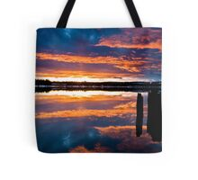 Mill Park Sunset Tote Bag