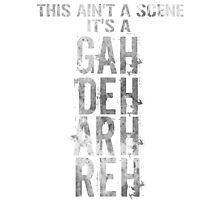 GAH! DEH! ARH! REH! Photographic Print